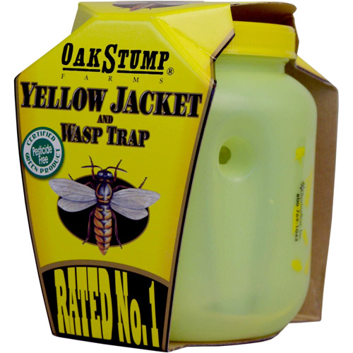 Springstar YJT12 Oak Stump Farm Yellow Jacket & Wasp Trap