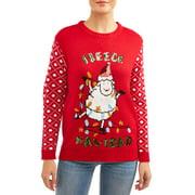 """Women's """"Fleece Navidad"""" Ugly Christmas Sweater"""