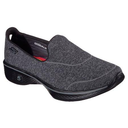 Skechers Performance Women's Go Walk 4 Super Sock 4 Walking Shoe, Black, 7 M