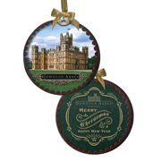 Shadow Box Ornament, 4.38-Inch, Officially licensed Downtown Abbey holiday merchandise By Downton Abbey