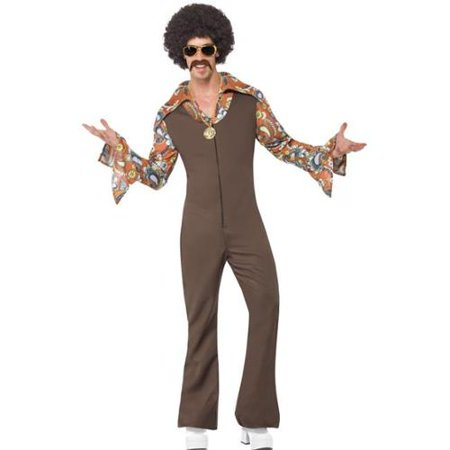 Smiffys SM43860_XL Adult Groovy Boogie Costume X-Large - Seventies Outfit