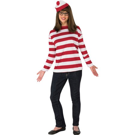 Women's Plus Size Where's Waldo Wenda Costume - Plus Size Pocahontas Costume