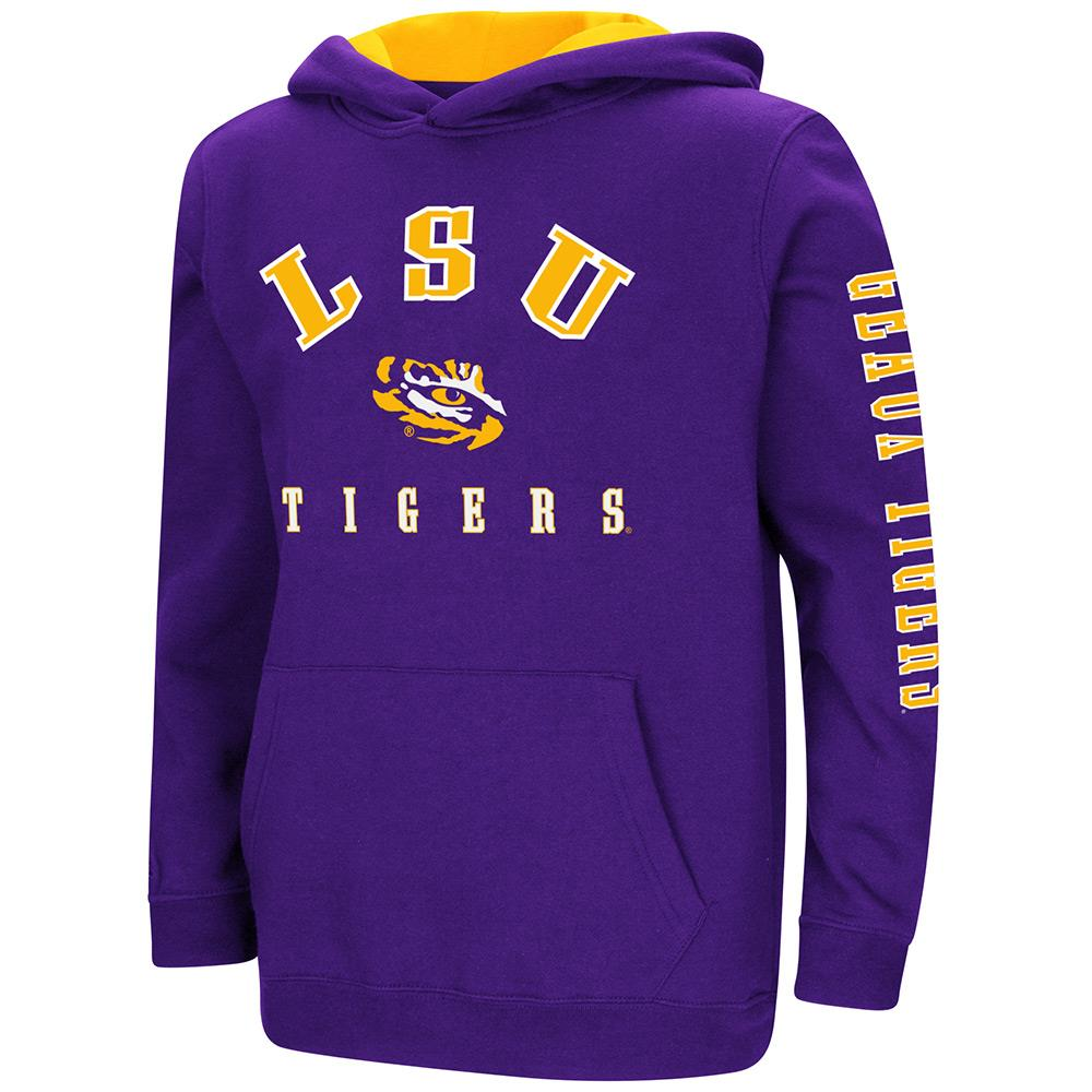 Youth LSU Tigers Pull-over Hoodie - S