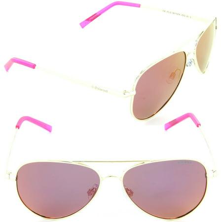 aafe90f6eaf Polaroid - Polaroid PLD 8015 N J5G-AI Aviator Sunglasses Gold Brown Mirror  Polarized Lens - Walmart.com