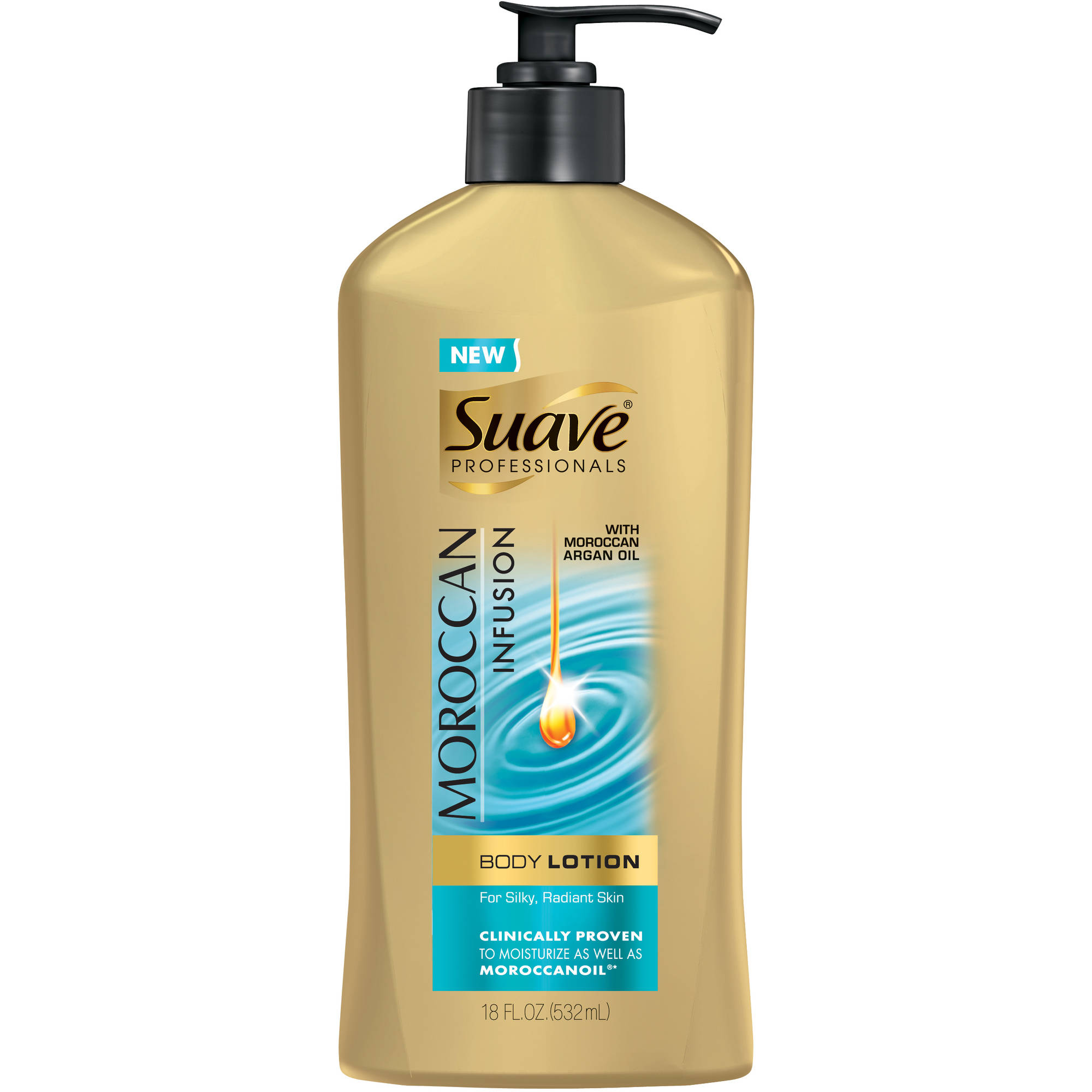 Suave Professionals Moroccan Infusion Body Lotion, 18 oz
