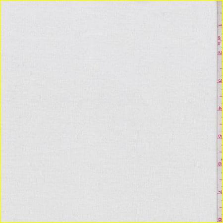 Winter White Pinwale Corduroy, Fabric By the (Wale Corduroy Fabric)