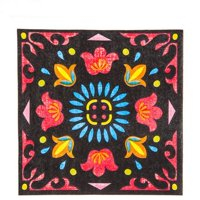 Fiesta Napkins Large South Western Party Supply Decoration 25 Count