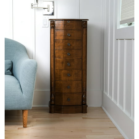 Hives & Honey Antoinette Jewelry Armoire - Walnut