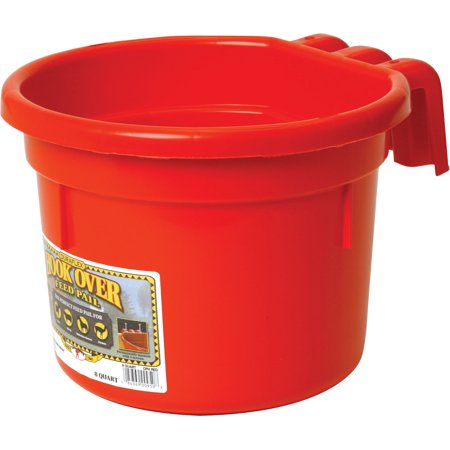 - Little Giant Hook Over Feed Pail, 2 Gallon