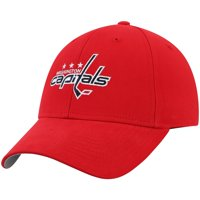 Men's Red Washington Capitals Mass Basic Adjustable Hat - OSFA