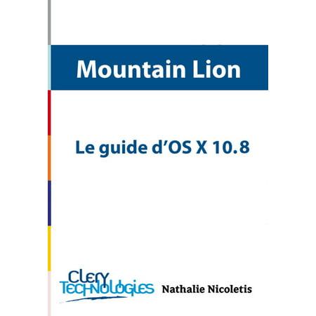 Le guide d'OS X 10.8 Mountain Lion - eBook