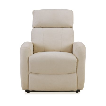 Cl30 Lift Chair - Tucson Power Recliner and Lift Chair in Cream Chenille