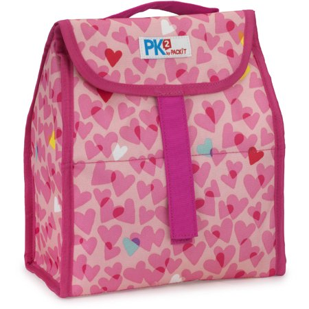 Packit Pk2 Lunch Sack  Hearts