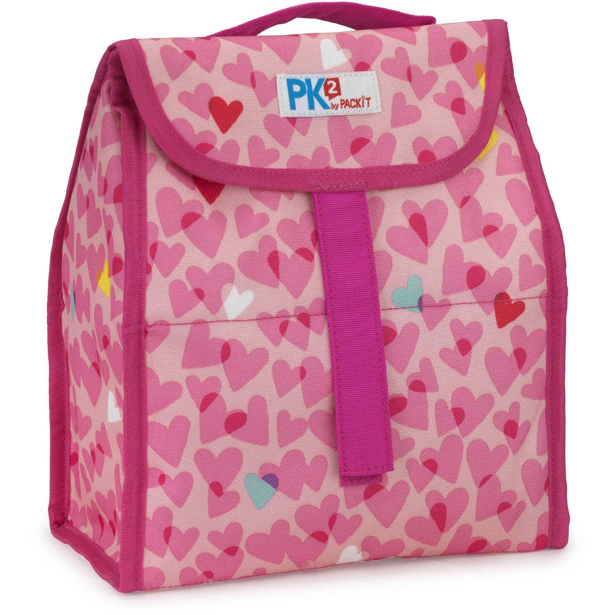 PackIt PK2 Lunch Sack, Hearts
