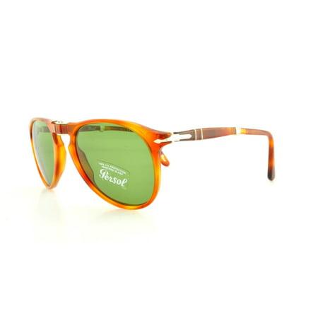 PERSOL Sunglasses PO 9714S 96/4E Terra Di Siena 52MM (Persol 9714)
