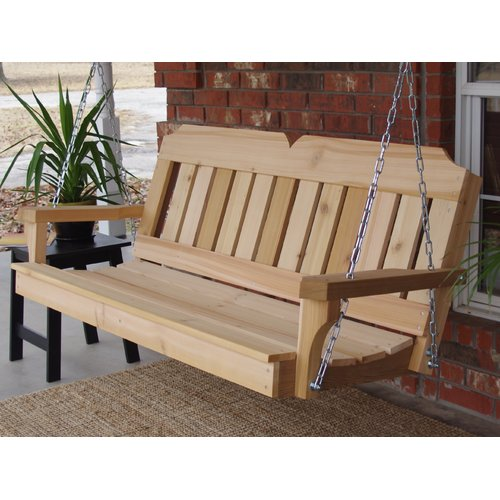 August Grove Galusha Porch Swing