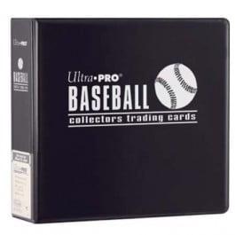 Baseball Photo Album - 3 Ring Baseball Album [Black]