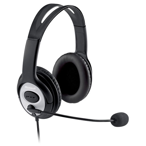 Microsoft LifeChat LX-3000 Over-The-Head Stereo Headset