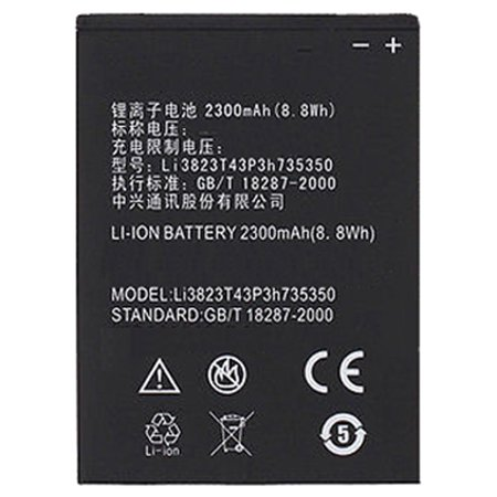 Replacement Battery for ZTE Li3823T43P3h735350 - Fits Grand X V975 N986 (Best Replacement Battery For Ztes)