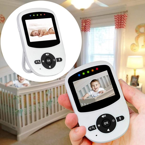 Video Baby Monitor with Digital Camera, Long Range of Up To 900 Feet with  An Out-of-range Warning, Infrared Night Vision, 2 Way Talk Back,  Temperature Monitoring and High Capacity Battery - Walmart.com -
