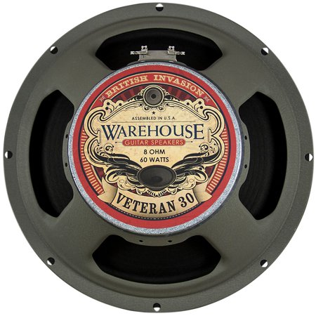 "Warehouse Guitar Speakers Veteran 30 12"" 60W British Invasion Guitar Speaker 8 Ohm"