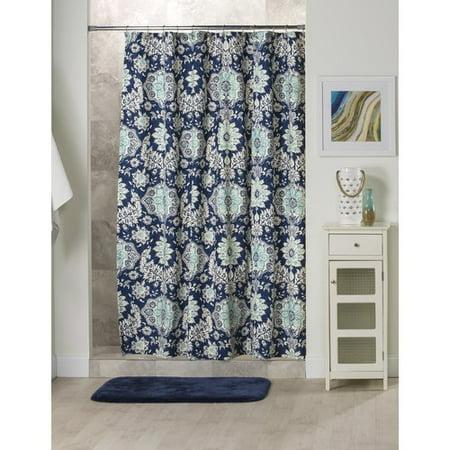 (Alcott Hill Nessa Cotton Shower Curtain)