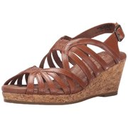 Walking Cradles Women's Amelie Sandal, Luggage, 10 M US