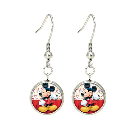 Mickey Mouse Dangle Earrings -