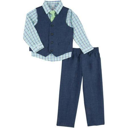 George Toddler Boy Linen Dress Set