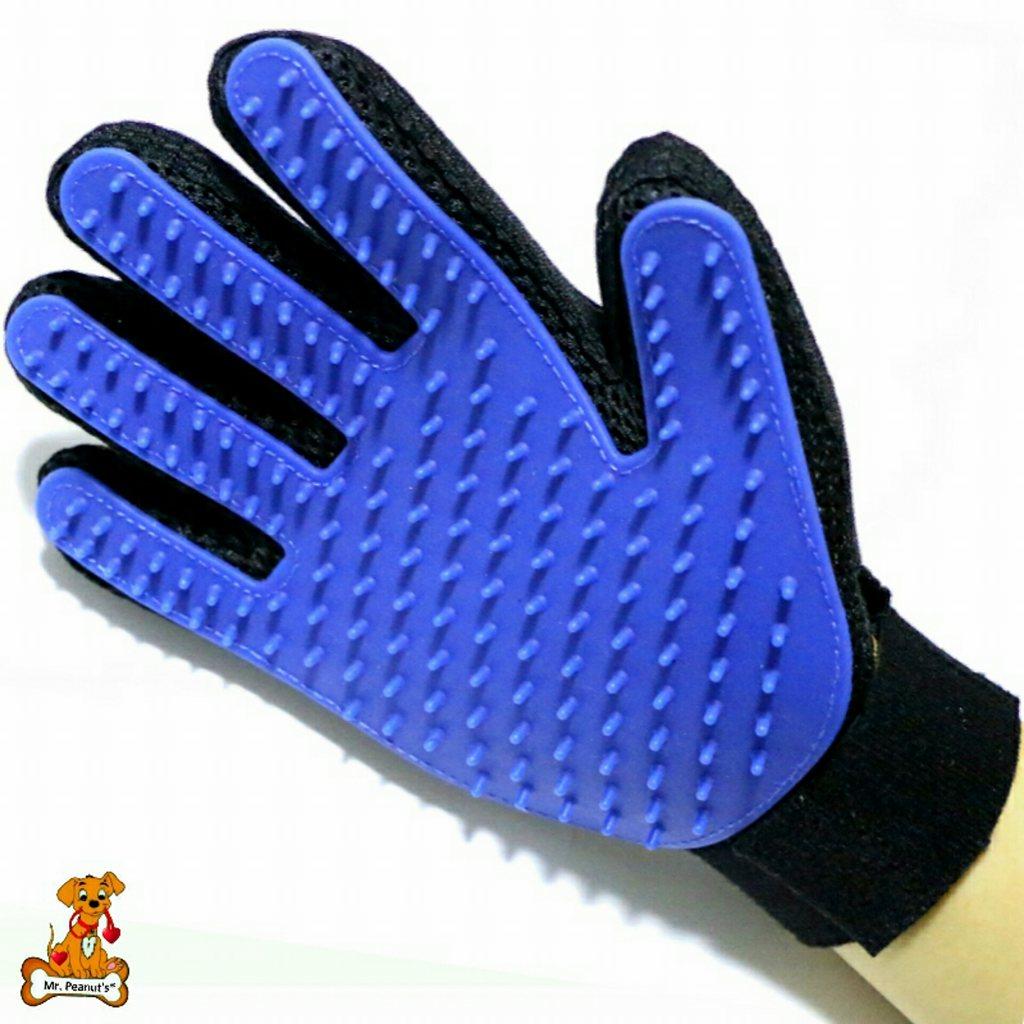Mr. Peanut's Han-D Glove Pet Grooming Brush & Deshedding Tool