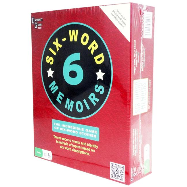 University Games 01299-6 6 Word Memoirs Family Card Game Case of 6 by University Games Corporation