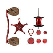 13 Fishing Demon Reel Kit, Red/Black