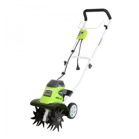 Greenworks 10-Inch 8 Amp Corded Tiller 27072 (Power Cultivator)