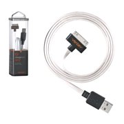 Ventev Charge & Sync Cable for Apple iPhone 4/4s 30-Pin (White)