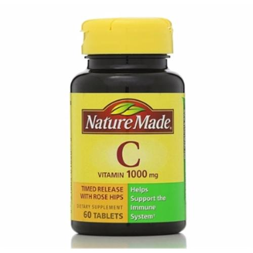 Nature Made Vitamin C 1000 mg Timed Release Tablets 60 ea (Pack of 2)