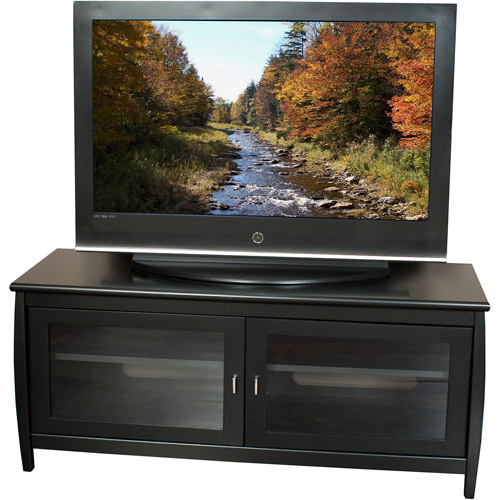 TechCraft TV Stand, Black, for TV's up to 52