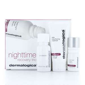 Dermalogica Nighttime Recovery Trio 3 pc Kit