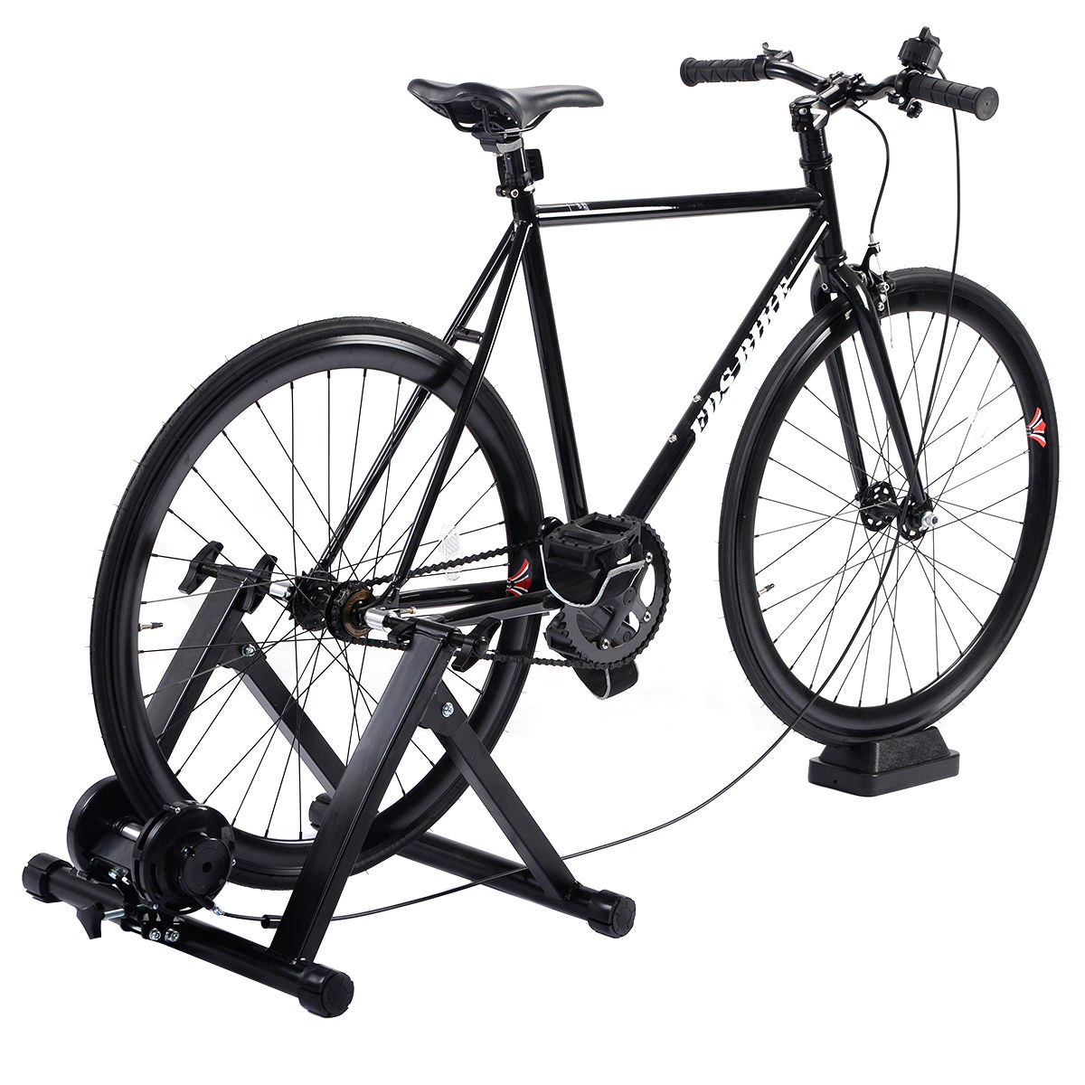 Fluid Bike Trainer  Smooth Fluid Resistance Indoor Exercise Bicycle Stand