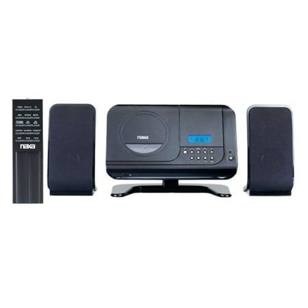 NAXA NSM-435 Digital MP3/CD Player System w AM/FM Radio