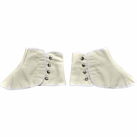 Canvas Spats Adult Halloween Accessory