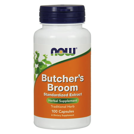 Natures Answer Butchers Broom (NOW Foods Butcher's Broom Standardized Extract, 100)