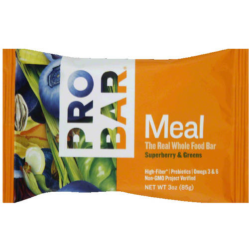 PROBAR Superberry & Greens Meal Bar, 3 oz, (Pack of 12)
