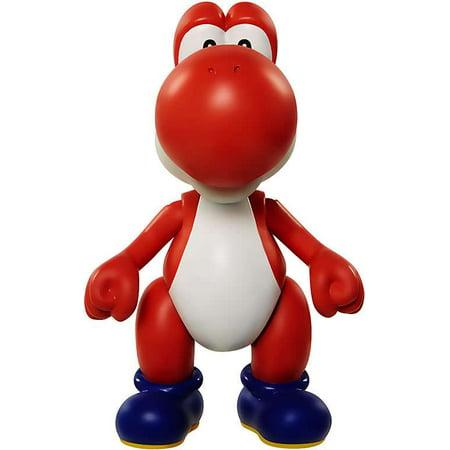 World of Nintendo Super Mario Yoshi (Red) Mini Figure