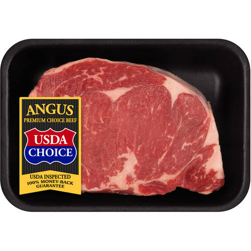 Beef Choice Angus Ribeye Steak Thick Cut 0.81-1.47 lb