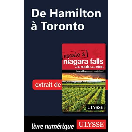 De Hamilton à Toronto - eBook (Azulejos De Toronto)