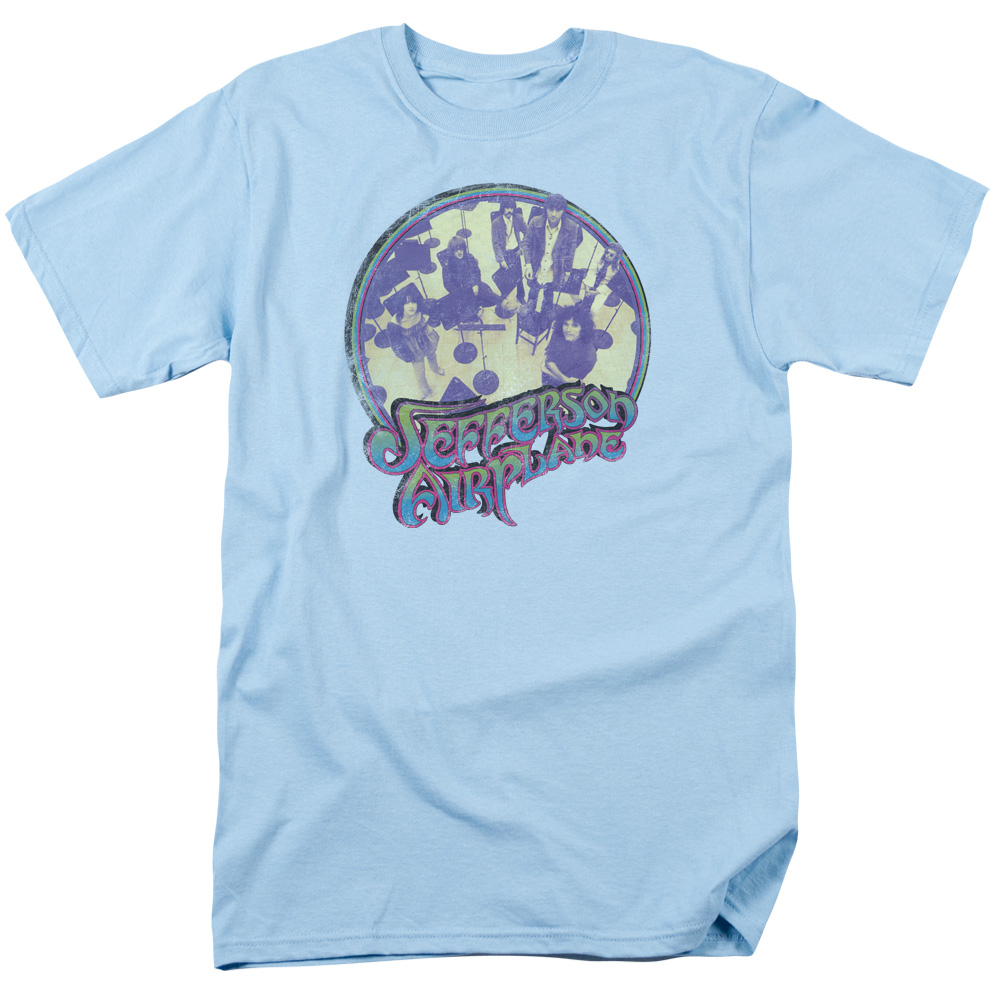 Jefferson Airplane Practice Mens Short Sleeve Shirt