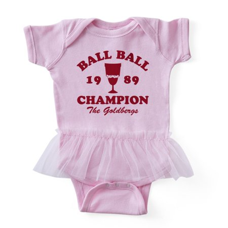 CafePress - Ball Ball Champion The Goldbergs Baby Tutu Bodysui - Cute Infant Baby Tutu Bodysuit