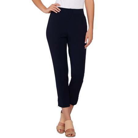 Button Cuff Pants - Kelly Clinton Kelly Crop Pants Button Cuff A278474