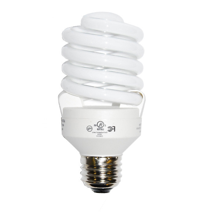 Luxrite 23w 120v Super Mini Twist Daylight 6500k Fluorescent Light Bulb by