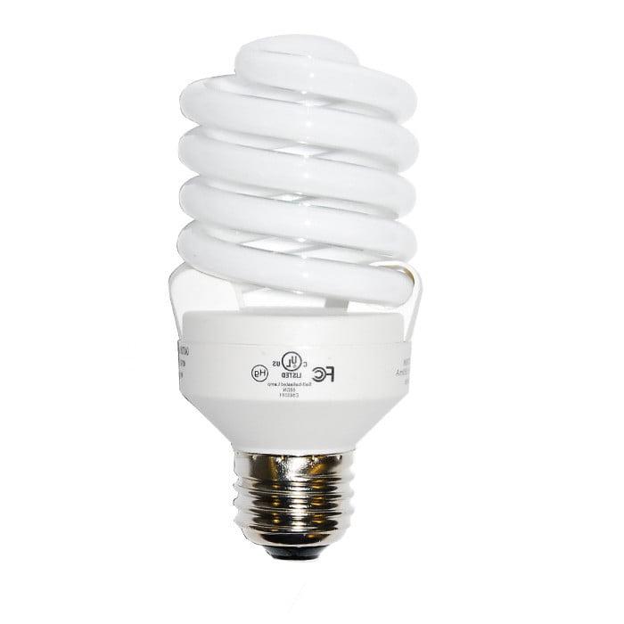Luxrite 23w 120v Super Mini Twist Daylight 6500k Fluorescent Light Bulb